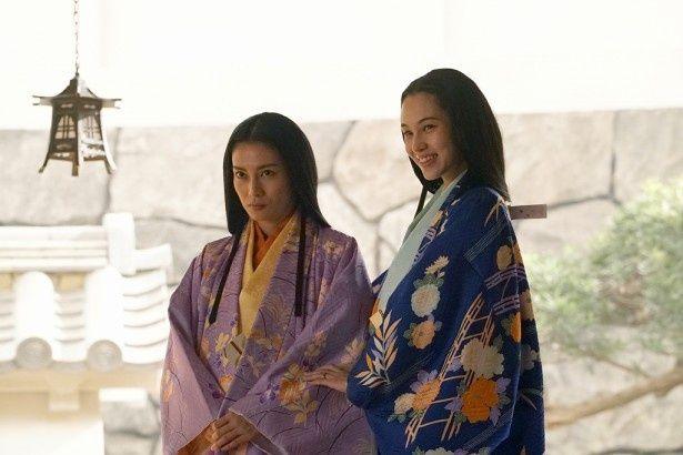 柴咲コウ&水原希子が『信長協奏曲』で和装姿を披露!