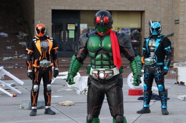 仮面ライダーゴーストと1号が共演する『仮面ライダー1号』