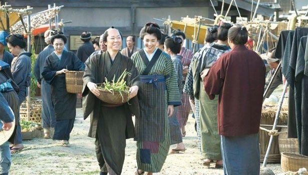 十三郎が想いを寄せる女性・とき。彼らの雰囲気もイイ感じ!