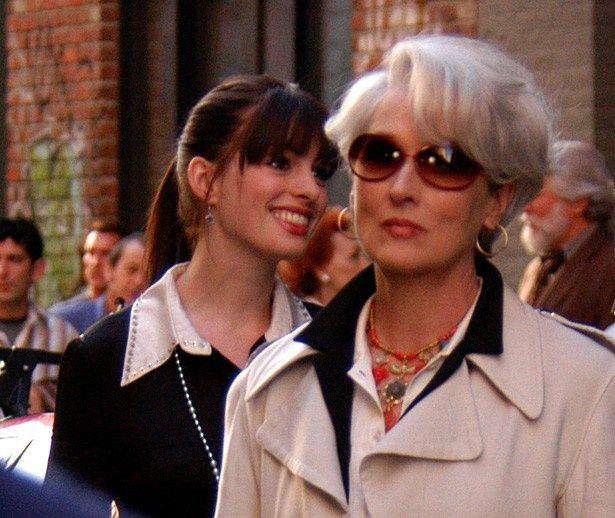 『プラダを着た悪魔』でアンはメリル・ストリープと共演