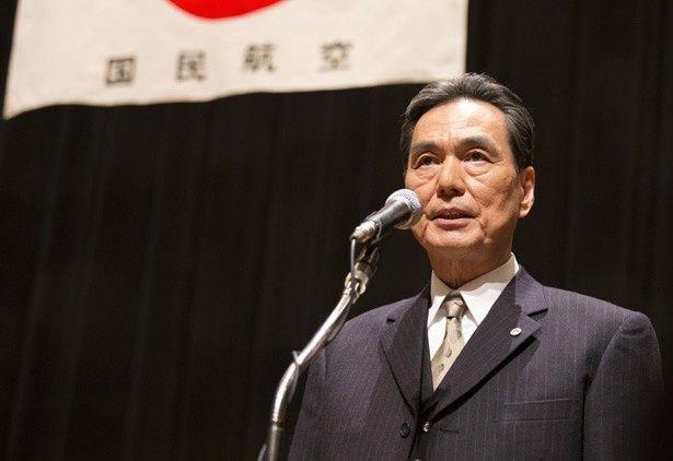 第2部の新キャスト・長塚京三。国民航空の新会長として活躍する