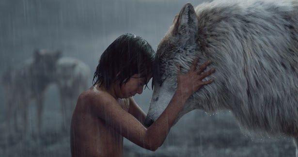 動物たちと一緒に暮らす少年の成長を描いた『ジャングル・ブック』は5位