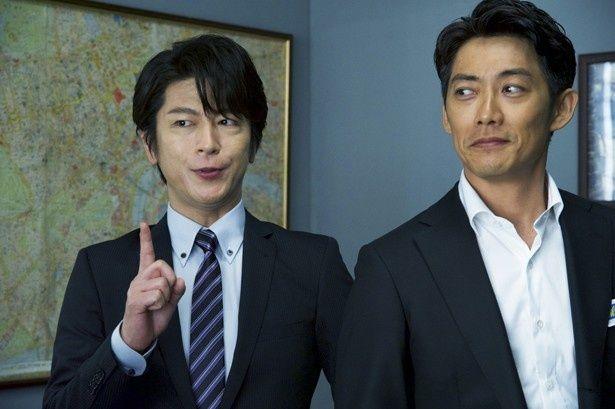 神戸尊を演じる及川光博も登場し、新旧相棒の共演も