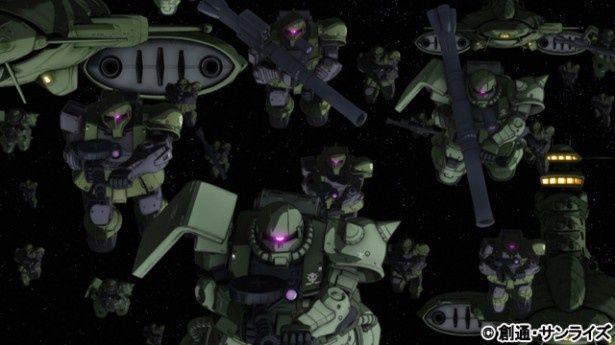 『機動戦士ガンダム THE ORIGIN ルウム編』は2部作として公開される