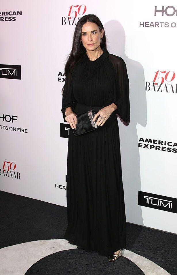 54歳とは思えない美貌を保っているデミ・ムーア