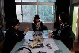 超能力研究部の3人